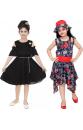 Girls Midi/Knee Length Casual Dress